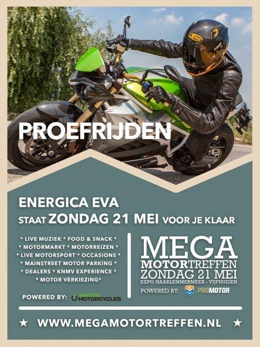 Energica Eva @  Mega Motor Treffen