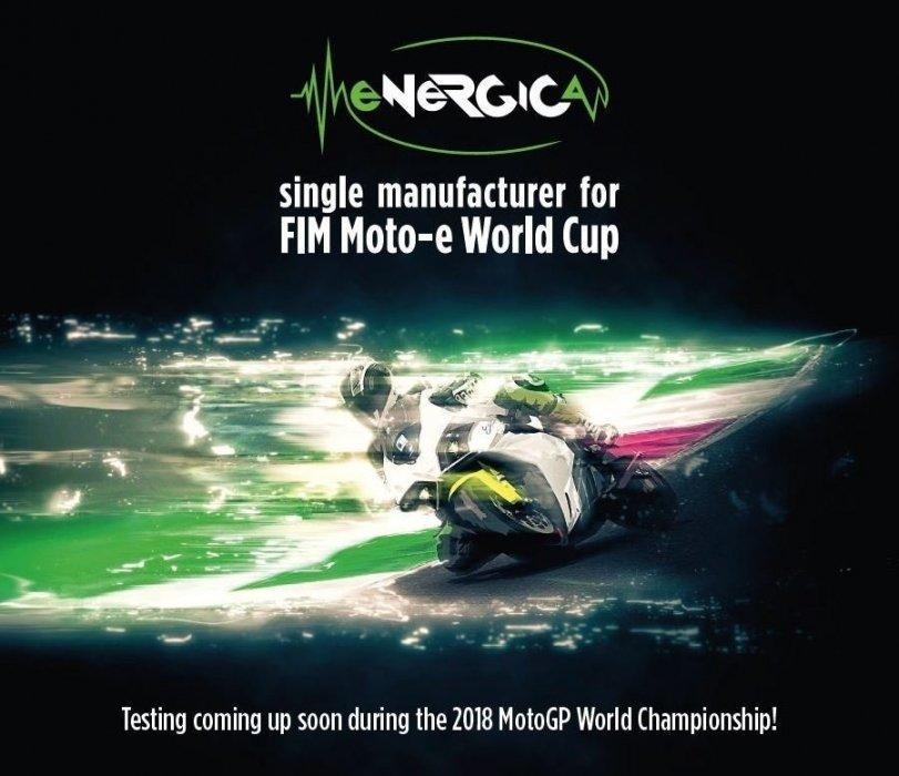 Energica levert elektrische motoren voor FIM Moto-e World Cup