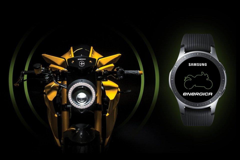 Energica Samsung Bolid-E Smartwatch