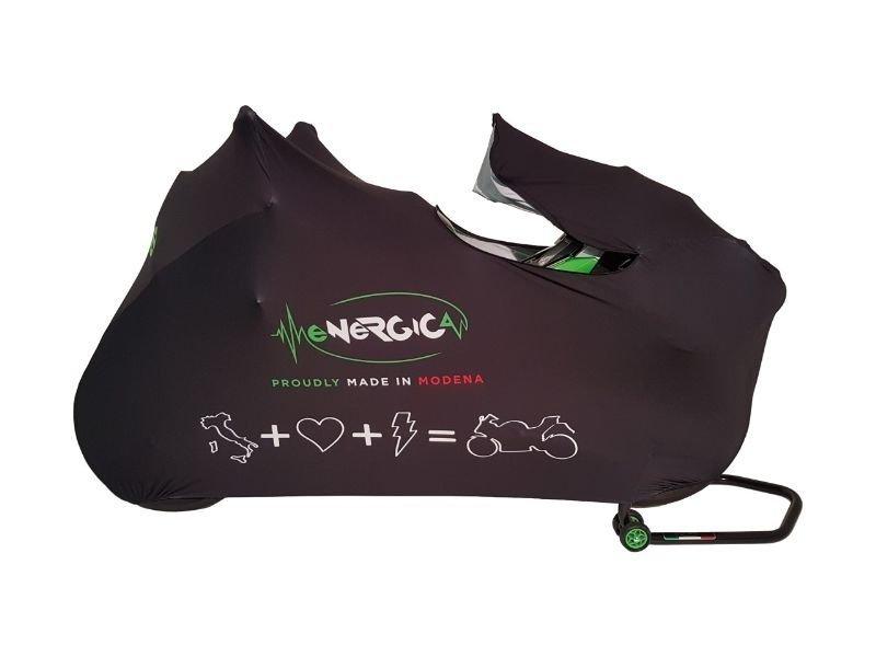 Energica Stretch cover voor binnen gebruik.