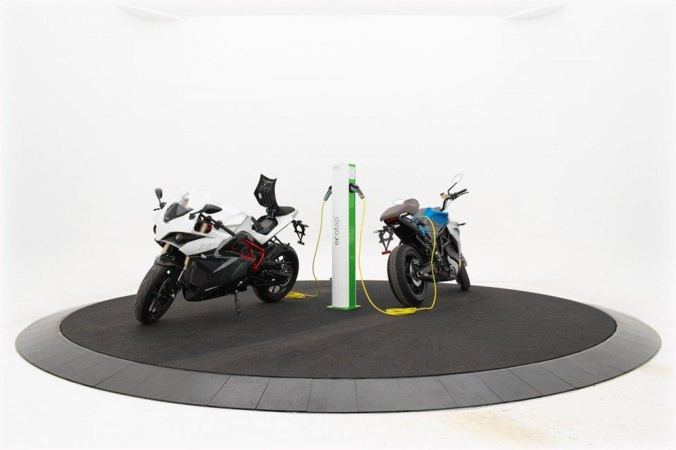 Ecotap SLK - Elektrische Motorfiets - Energica