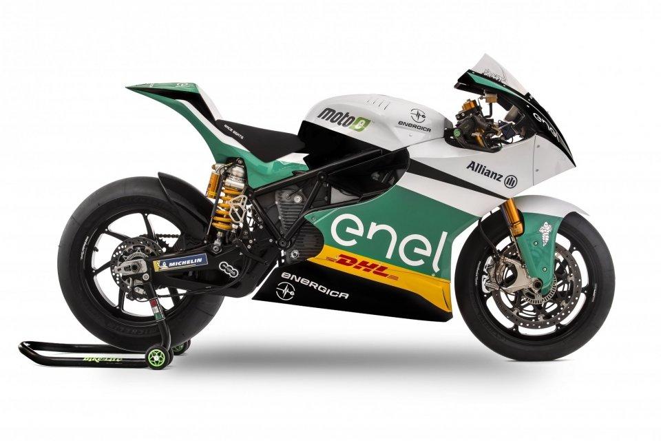 Elektrische Superbike Energica Ego Corsa - elektrische circuitmotor